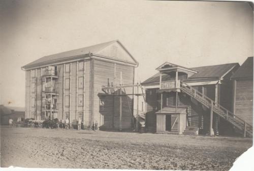 Julius Bergmann's Mühle in Lysenderhöh